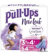 Huggies Culottes d'apprentissage de la propreté New Leaf Pull-Ups pour filles