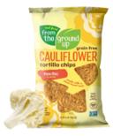 From the Ground up Cauliflower Tortilla Chips Nacho