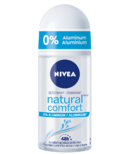 Nivea Natural Comfort Aluminum Free Roll-on Deodorant