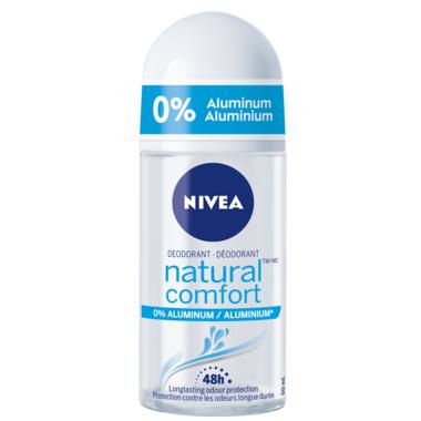 Nivea Natural Comfort Aluminum Free Roll-on Deodorant