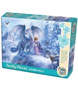 Cobble Hill Puzzle Ice Dragon