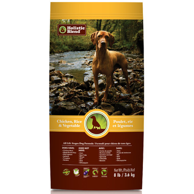 Holistic Blend Chicken, Rice & Vegetable Dog Food