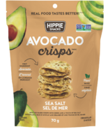 Hippie Snacks Avocado Crisps Sea Salt