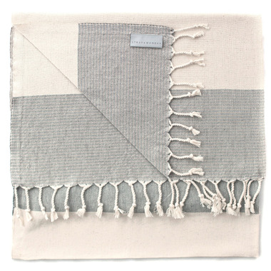 Stray & Wander Rio Turkish Towel Natural & Beige