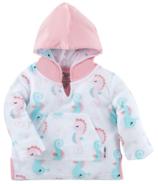 ZOOCCHINI Baby Terry Swim Coverup Seahorse