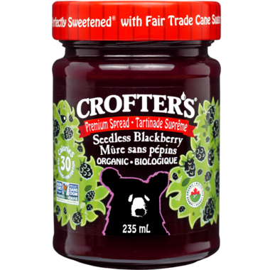 Crofter\'s Organic Seedless Blackberry Spread