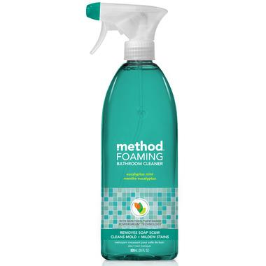 Method Foaming Bathroom Cleaner Eucalyptus Mint
