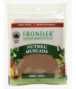 Noix de muscade moulue biologique de Frontier Natural Products