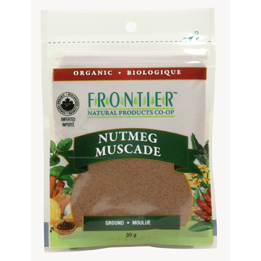 Frontier Natural Products Organic Ground Nutmeg
