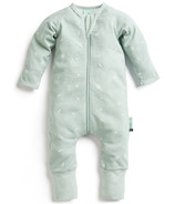 ergoPouch Organic Cotton Pajamas Long Sleeve Sleeper Sage 0.2 TOG