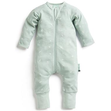ergoPouch Organic Cotton Pajamas Long Sleeve Sleeper Sage 0.2 TOG