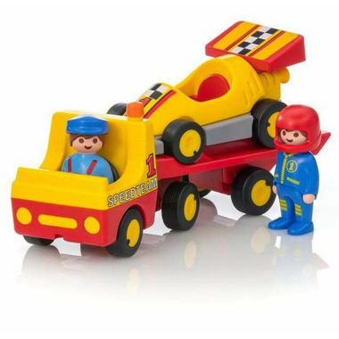 Playmobil Tow Truck with Race Car