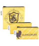 Bumkins Harry Potter Reusable Snack Bag Hufflepuff