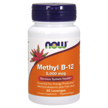NOW Foods Methyl B-12 Lozenges