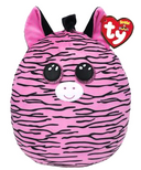 Ty Squish-A-Boos Zoey The Zebra