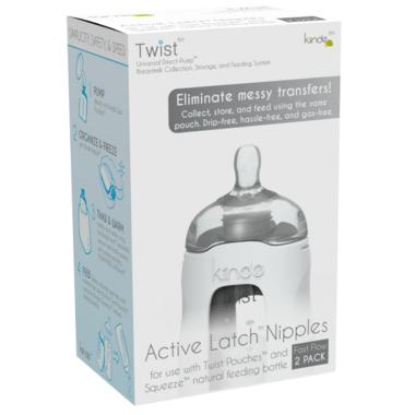 Kiinde Twist Active Latch Nipples