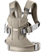 BabyBjorn Baby Carrier One Air Greige 3D Mesh