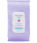 Live Clean Baby Soothing Relief Wipes