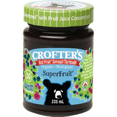 Crofter\'s Organic Superfruit Just Fruit Spread