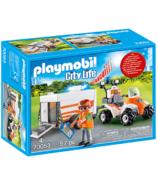 Playmobil City Life Rescue Quad with Trailer