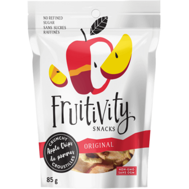 Fruitivity Snacks Crunchy Apple Chips Original