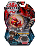 Bakugan Pyrus Mantonoid Collectible Action Figure and Trading Card