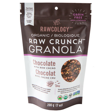 Rawcology Chocolate Raw Crunch Granola