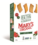 Mary's Organic Crackers Real Thin Tomato & Basil Crackers