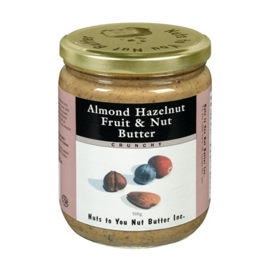 Nuts to You Almond Hazelnut Fruit & Nut Butter