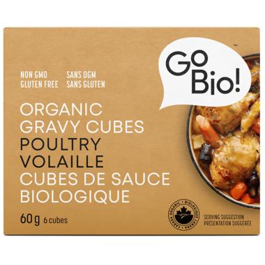 GoBIO! Organic Poultry Gravy Cubes
