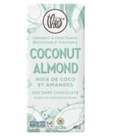 Theo Organic & Fair Trade Almond Coconut Dark Chocolate Bar