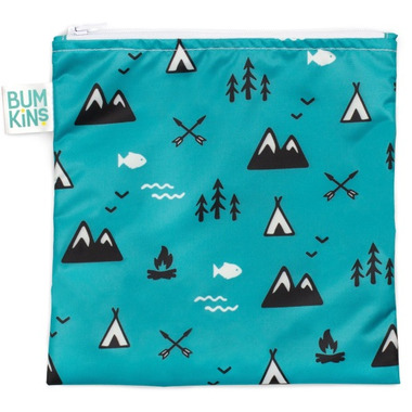 Bumkins Reusable Snack Bag Large Outdoors
