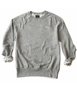 Province of Canada Dad French Terry Crewneck Sweater Heather Grey