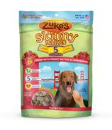 Zuke's Skinny Bakes 5 Calorie Dog Treats with Peanut Butter & Cranberries
