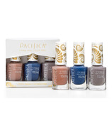 Pacifica 7 Free Nail Polish Set - Blue