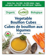 GoBIO! Organic Vegetable Bouillon Cubes