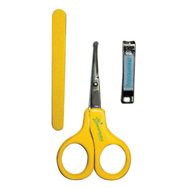 Dreambaby Manicure Set Yellow
