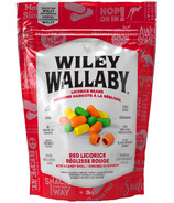 Wiley Wallaby Red Licorice with Candy Shells