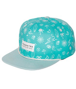 Headster Kids Surf's Up Turquoise Hat
