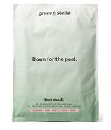 Grace & Stella Co. Dr. Pedicure Foot Peeling Mask Coconut