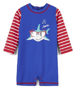 Hatley Cool Shark Baby Rashguard One-Piece