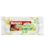 Huggies Natural Care Fragrance Free Baby Wipes Travel Pack