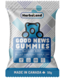 Herbaland Good News Gummies Blueberry Burst