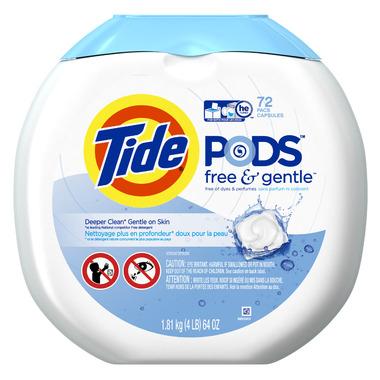 Tide Free & Gentle Laundry Detergent PODS
