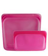 Stasher Storage & Snack Bag Raspberry Bundle
