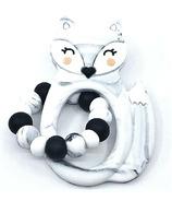 Little Cheeks Fox Ring Marble