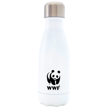 S\'well World Wildlife Fund Stainless Steel Water Bottle White