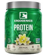 Ergogenics Plant Protein + Greens Vanilla
