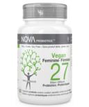NOVA Probiotics VEGAN Feminine 27 Billion CFU