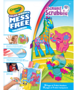 Crayola Color Wonder Mess-Free Colouring Pages & Markers Scribble Scrubbie